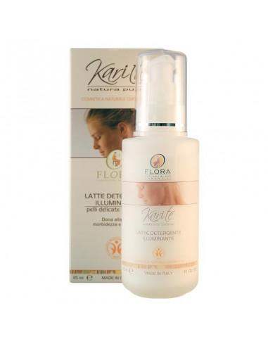 latte detergente illuminante per la pulizia del viso