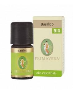 olio essenziale di basilico limone certificato BIO