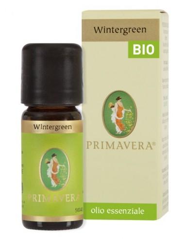 olio essenziale di wintergreen rpveniente da agricoltura biologica