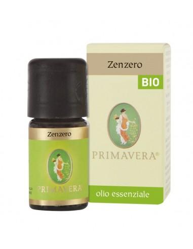 olio essenziale di zenzero certificato biologico