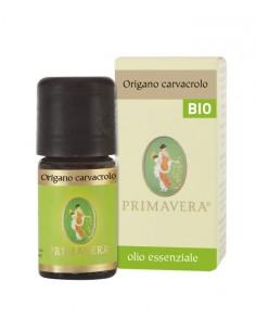 olio essenziale di origano carvacrolo certificato biologico