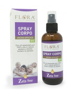 spray corpo zetafree repellente per zanzare