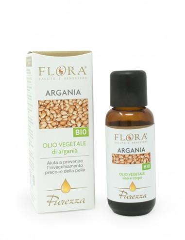 olio viso e corpo con olio vegetale di argan
