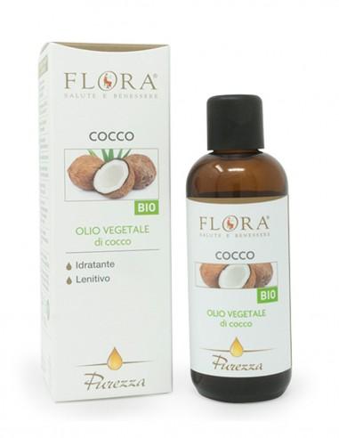 olio viso e corpo al cocco, base ideale in aromaterapia