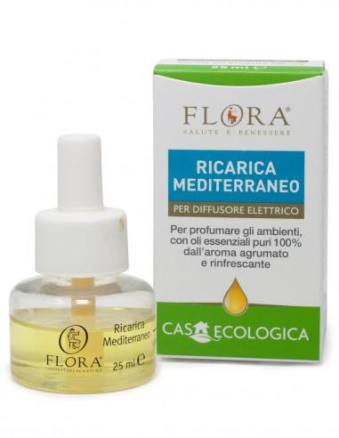 ricarica per diffusore ambiente con oli essenziali dall'aroma agrumato