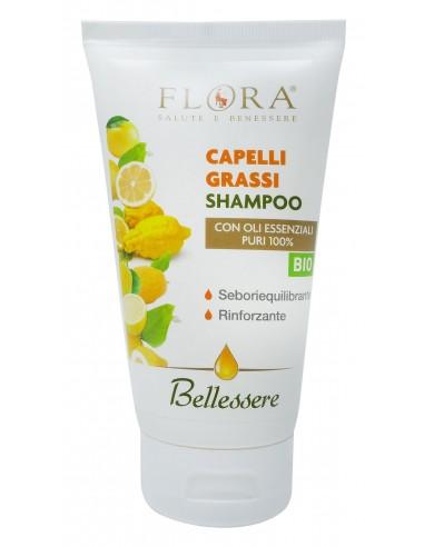 shampoo capelli grassi con oli essenziali