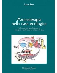 libro di aromaterapia per l'uso degli oli essenziali nelle pulizie domestiche