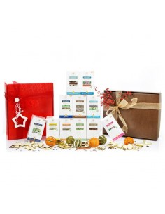 confezione regalo flora mista di insusi e tisane
