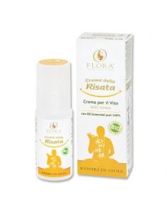 crema per il viso con oli essenziali agrumati