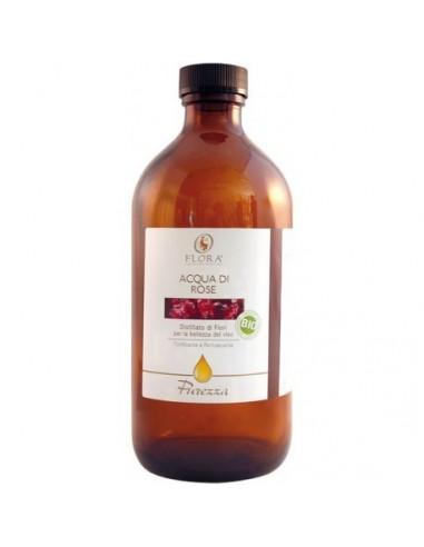 tonico per il viso, acqua aromatica di rose