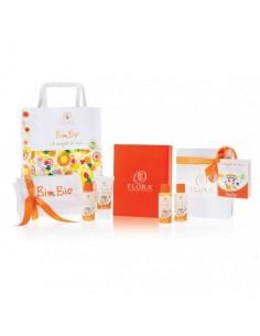 confezione regalo con prodotti per bambini