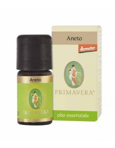olio essenziale di aneto Anethum graveolens proveniente da coltivazioni biodinamiche