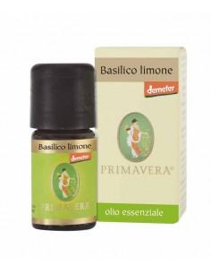olio essenziale di basilico limone certificato demeter