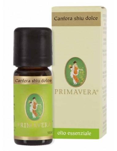 olio essenziale di canfora shiu dolce