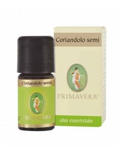 olio essenziale di coriandolo semi puro 100%