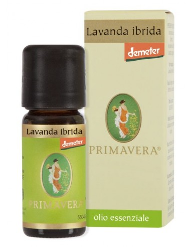 olio essenziale di lavanda ibrida demeter