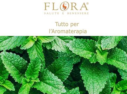 Olio Essenziale Di Menta Piperita Fresca Chiarezza Flora Bio