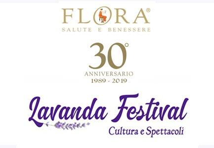 Flora festeggia il successo dei suoi 30 anni con il Lavanda Festival